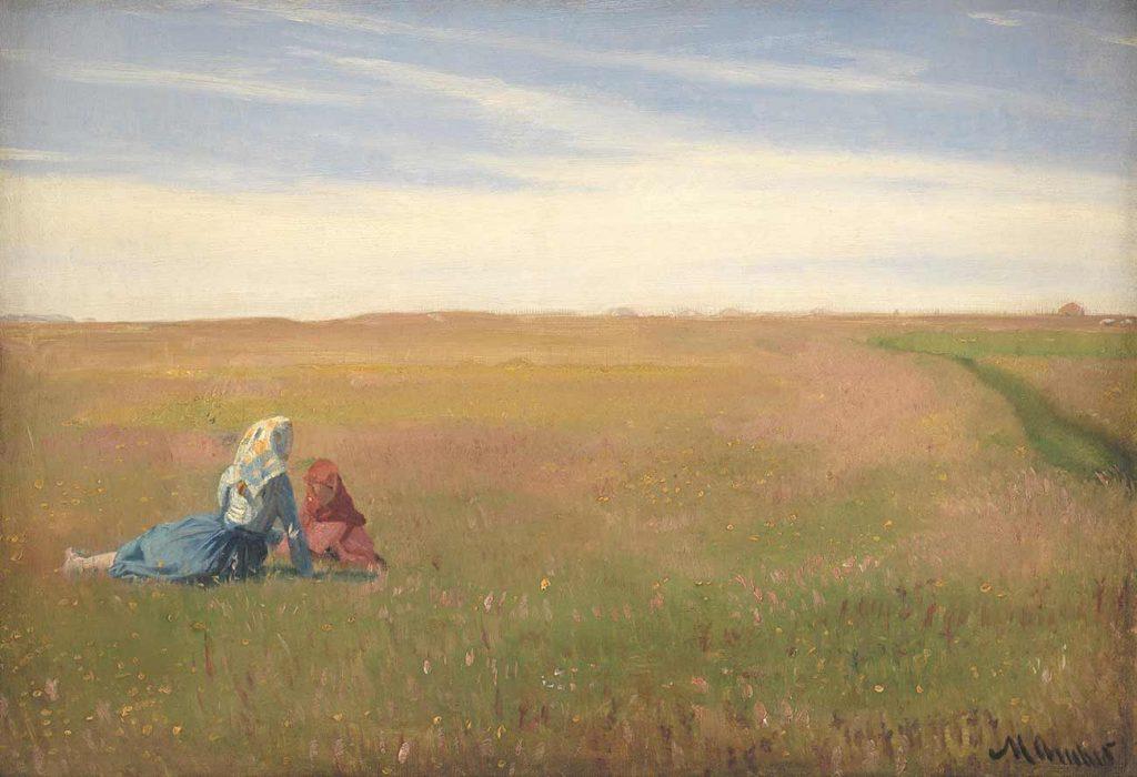 Michael Peter Ancher Bir Yaz Günü