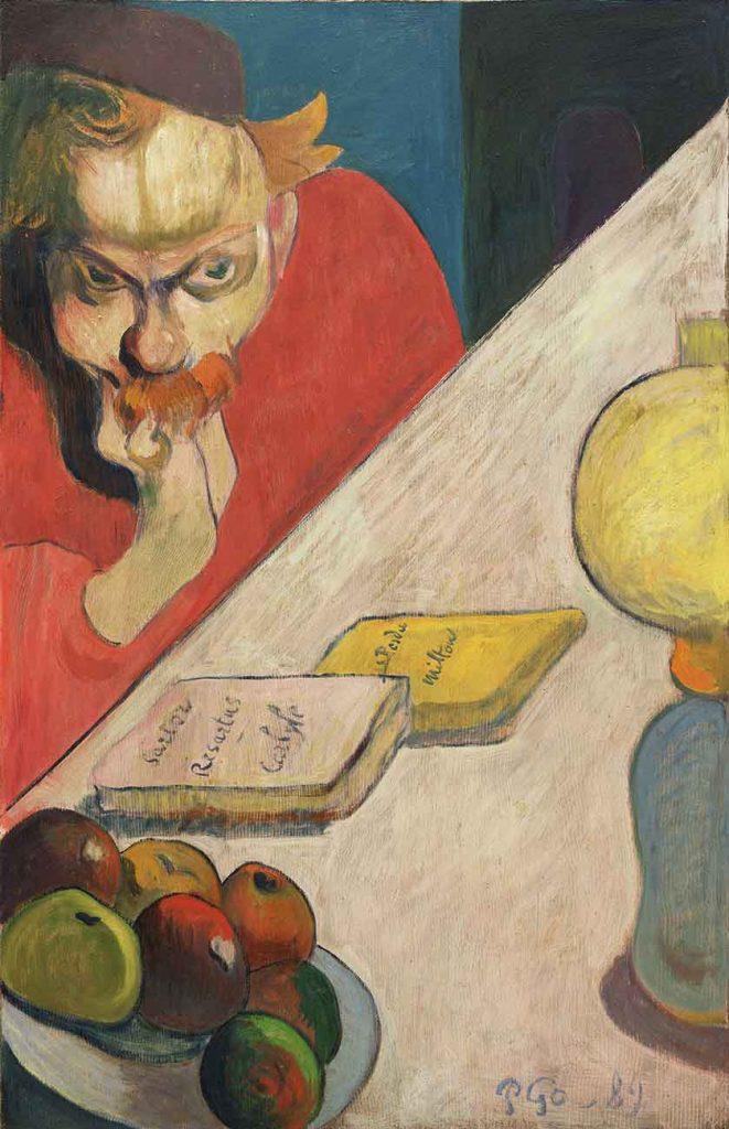 Paul Gauguin Jacob Meyer'in Portresi
