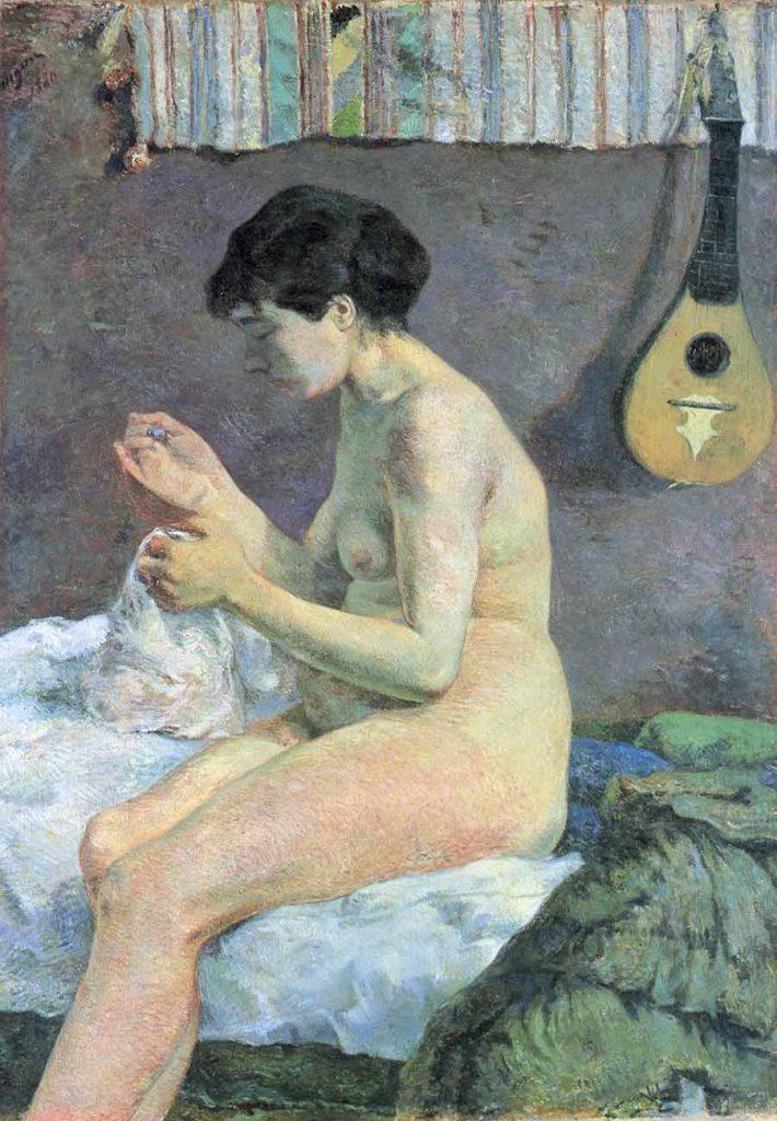 Paul Gauguin Nü Etüdü