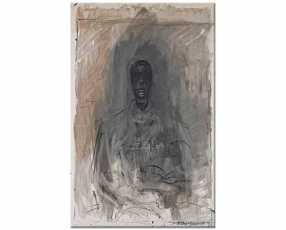 Alberto Giacometti Diego'nun Portresi