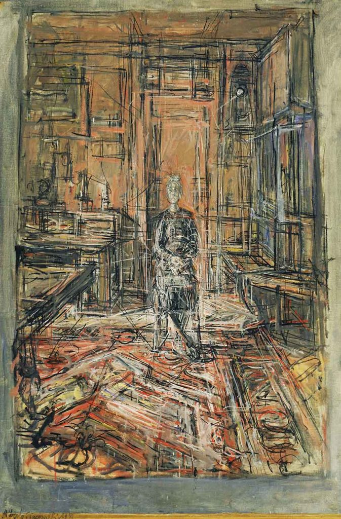 Alberto Giacometti Sanatçının Annesi
