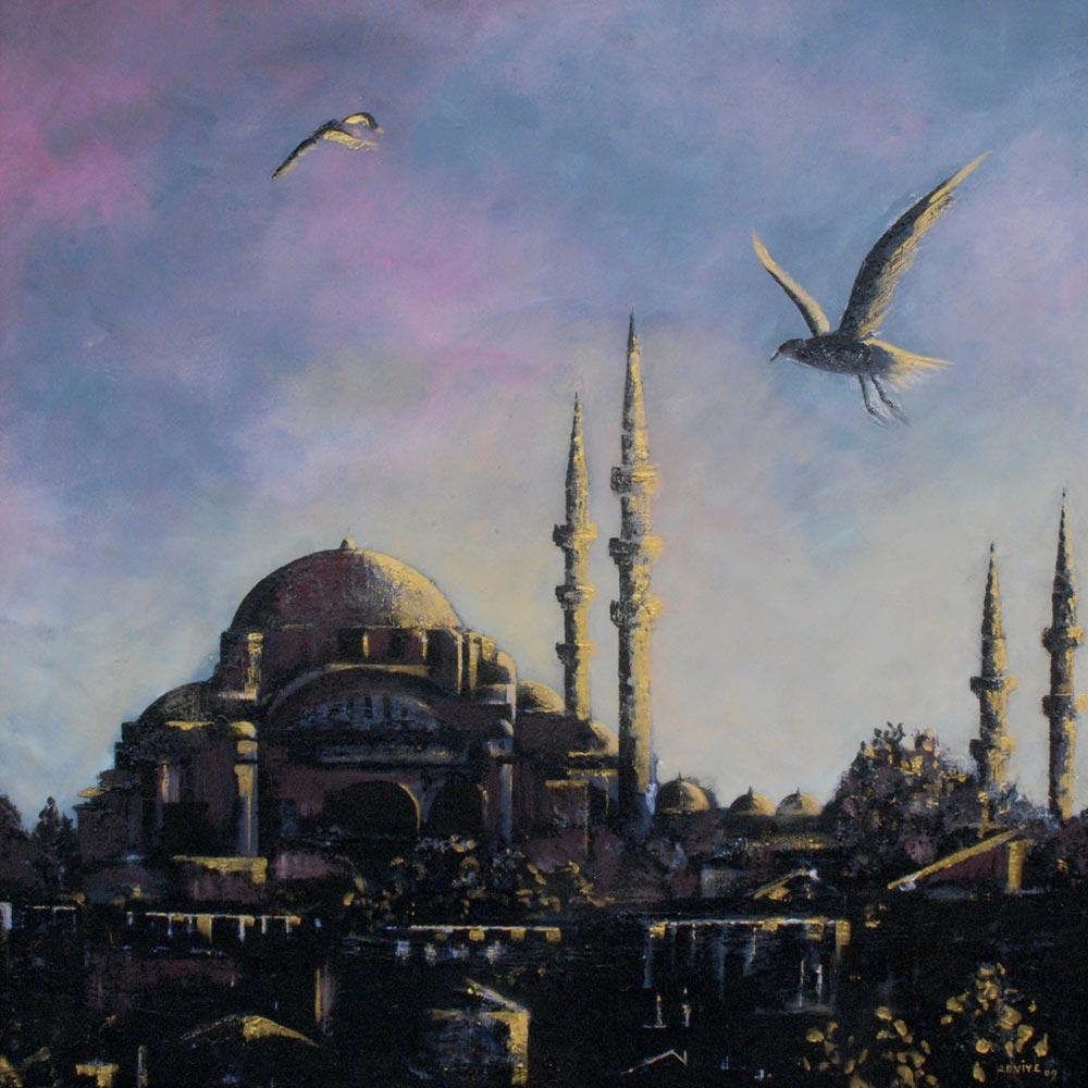 Adviye Özküçük İstanbul Renklerine Bakış