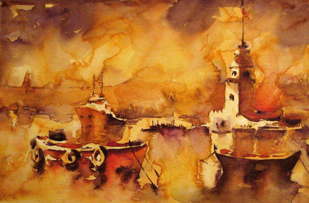 Burhan Özer Üsküdar ve Kız Kulesi