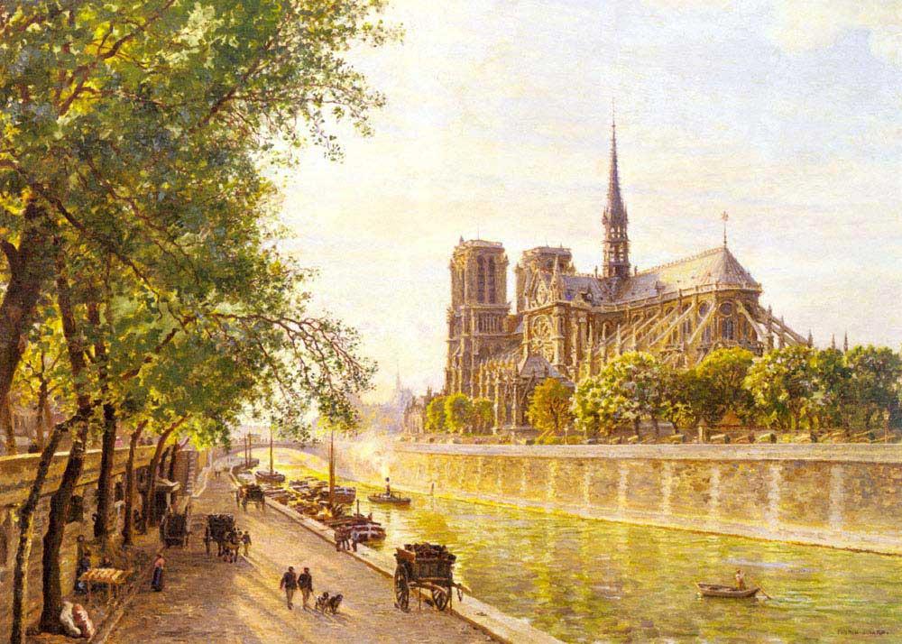 Marie Francois Firmin Girard Notre Dame Katedrali