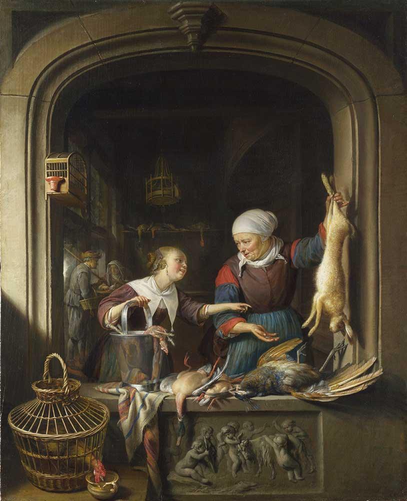 Gerrit Dou Tavukçu Dükkanı