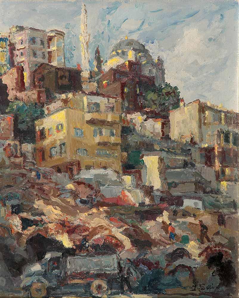 İbrahim Safi Dolmabahçe'de Cami
