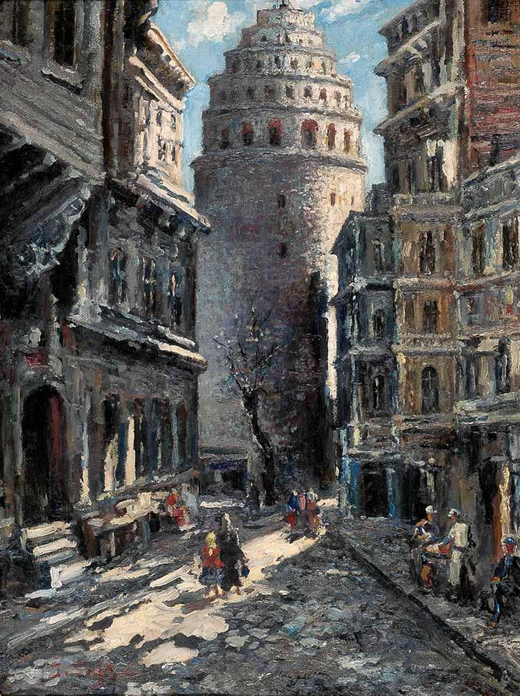 İbrahim Safi Galata Kulesi Sokağı