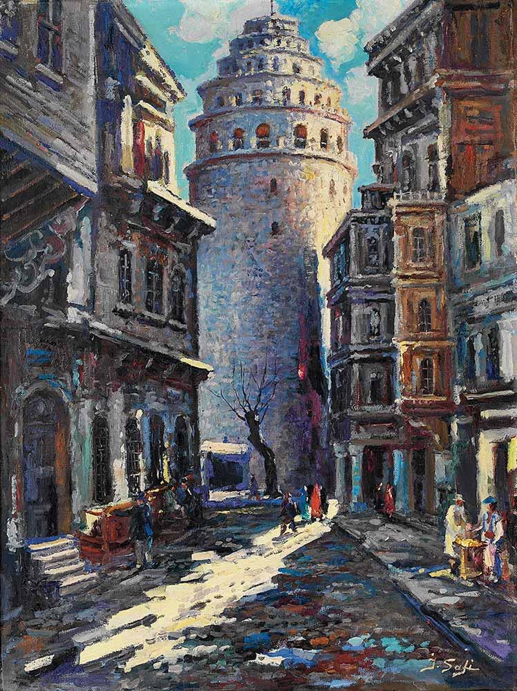 İbrahim Safi Galata Kulesi