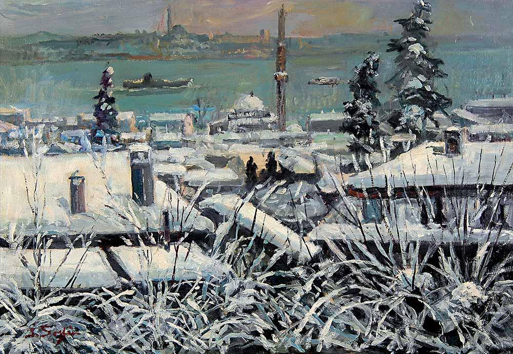 İbrahim Safi İstanbul'da Kış