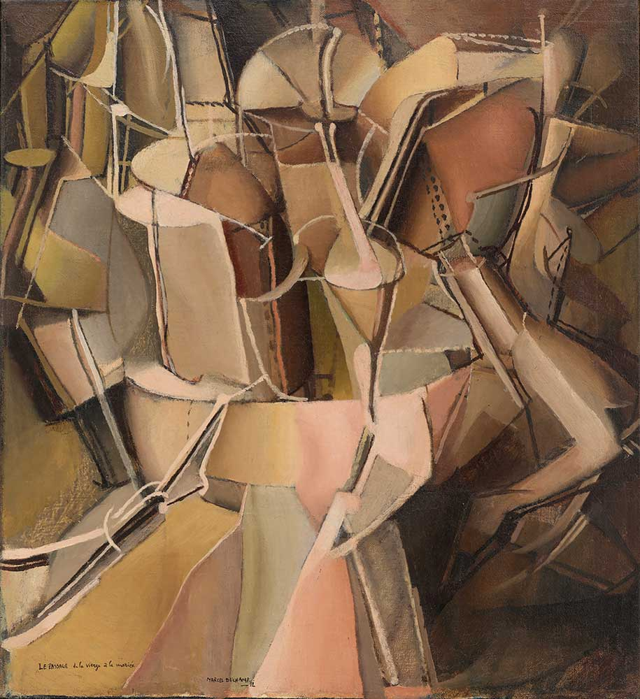 Marcel Duchamp Bakirelikten Gelinliğe Geçiş