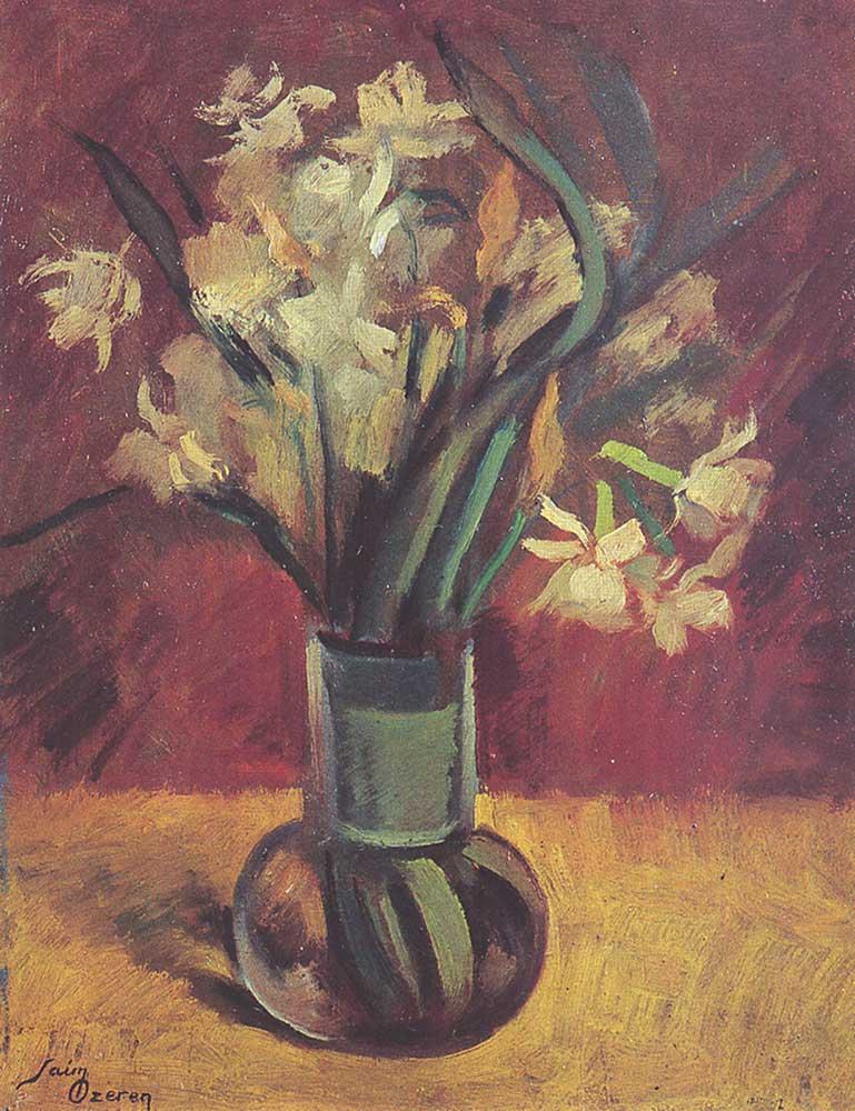Saim Özeren Vazoda Çiçekler