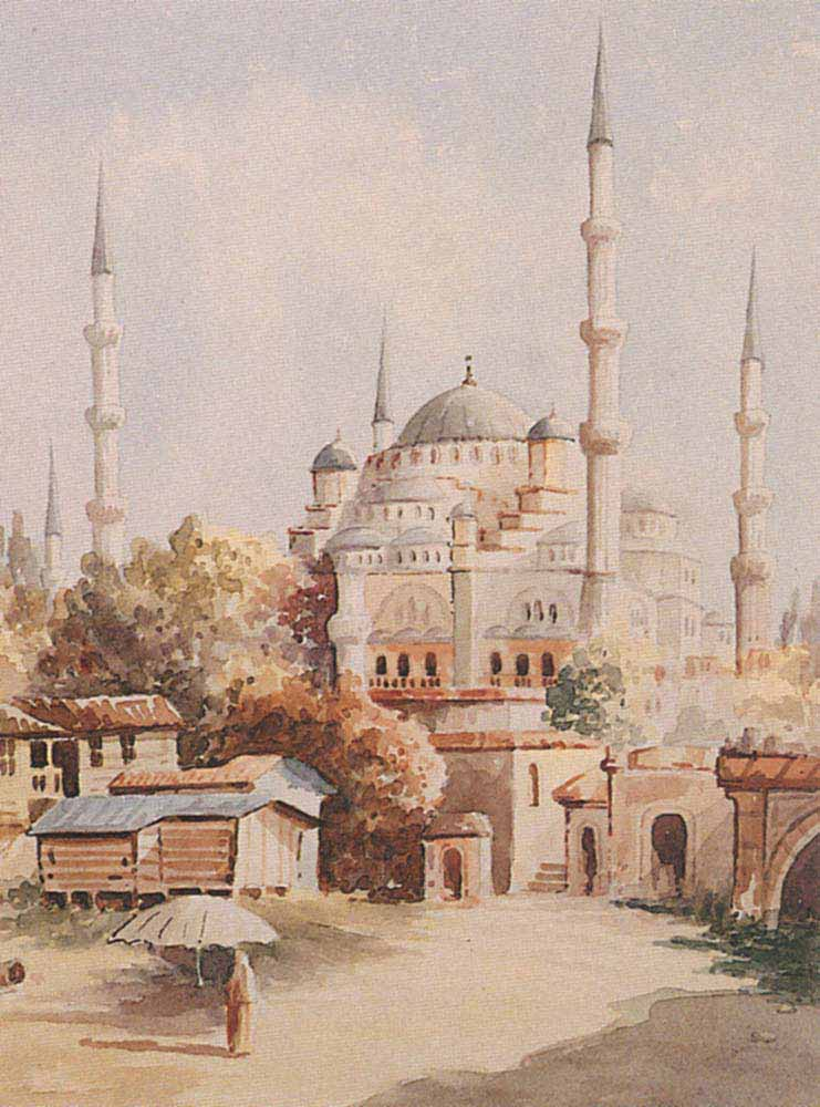Vahit Istanbul'da Cami