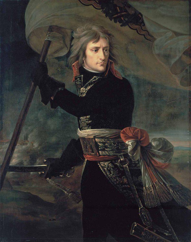 Antoine Jean Gros Bonapart Arcole Köprüsü Üzerinde