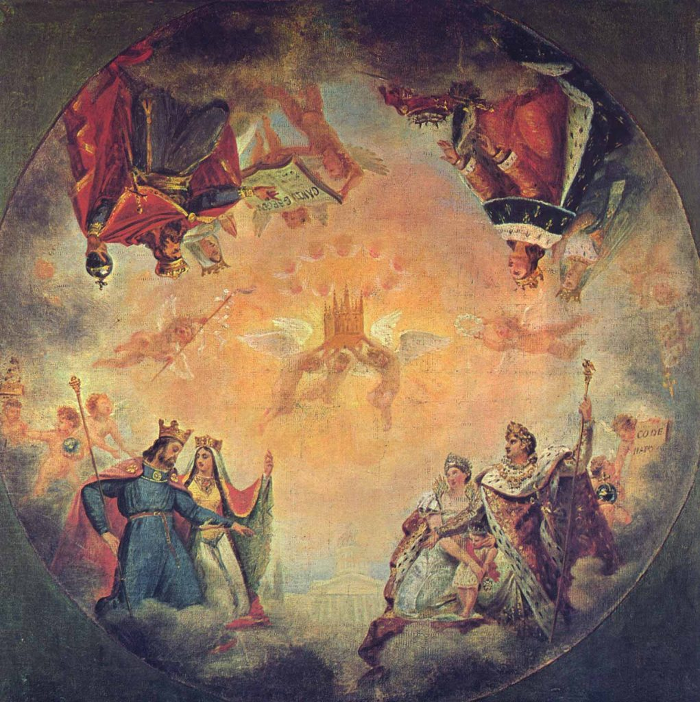 Antoine Jean Gros Pantheon İçin Etüd