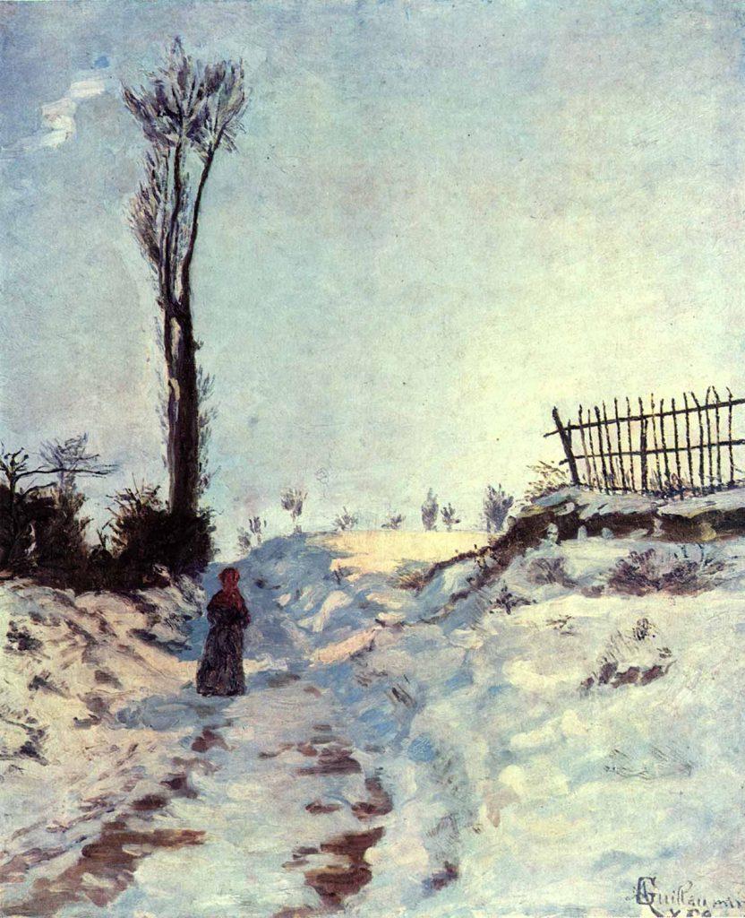 Armand Guillaumin Karlı Yol