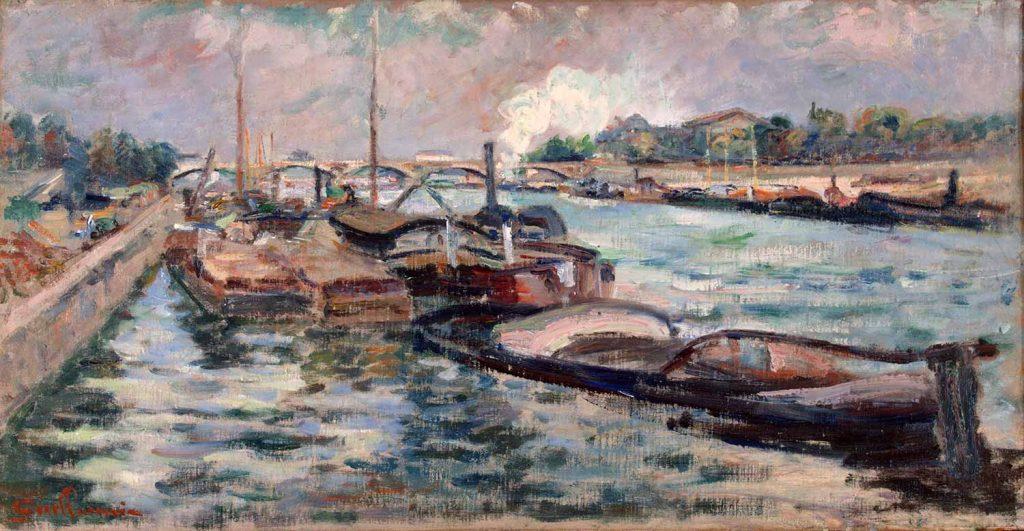 Armand Guillaumin Seine Kıyısında