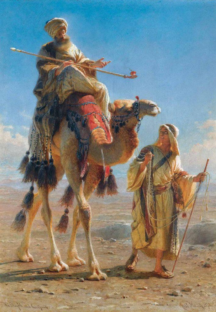 Carl Haag Şeyh ve Rehberi