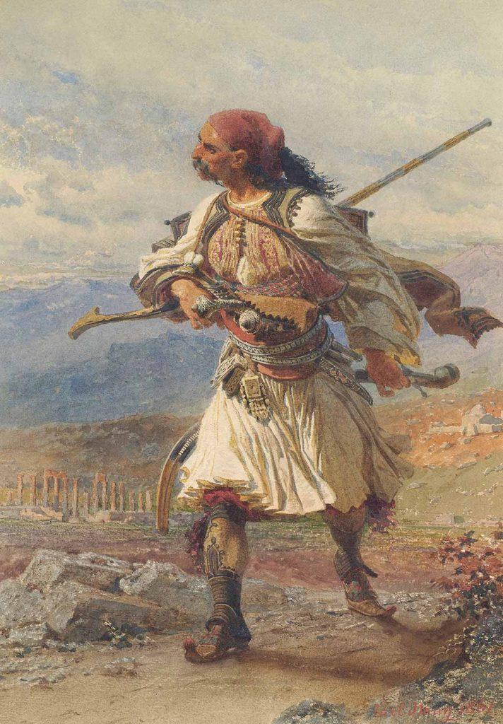 Carl Haag Yunan Savaşçı