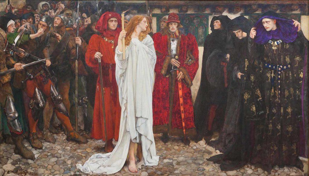 Edwin Austin Abbey Hamlet Oyunundan Bir Sahne