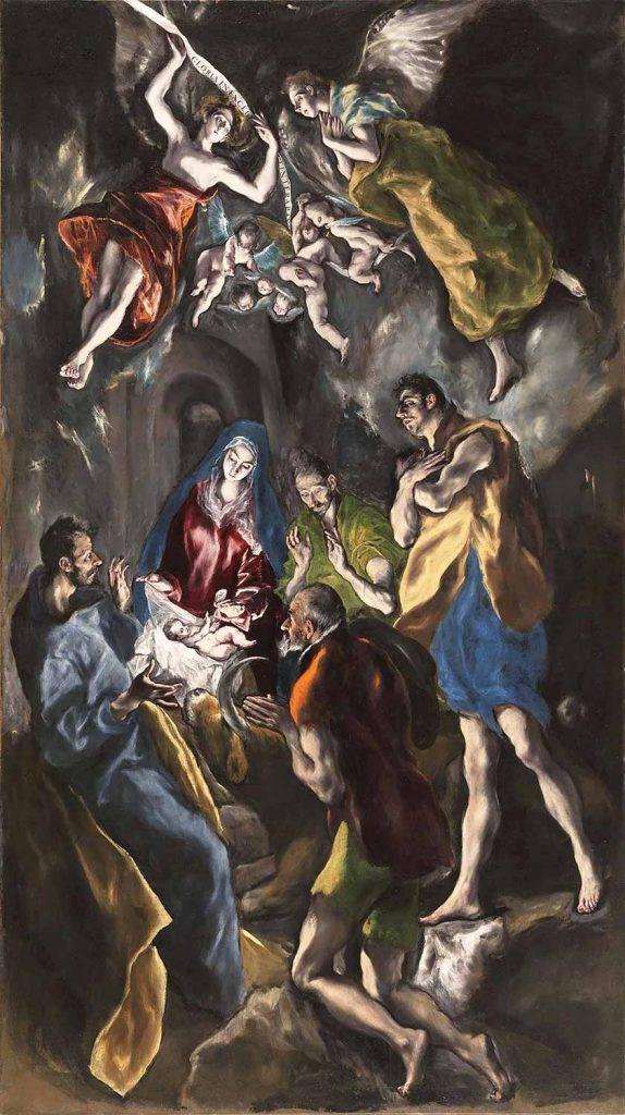 El Greco Çobanların Duası