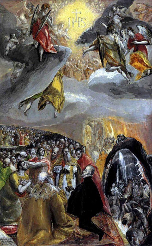 El Greco Lepanto'nun Zafer Allegorisi