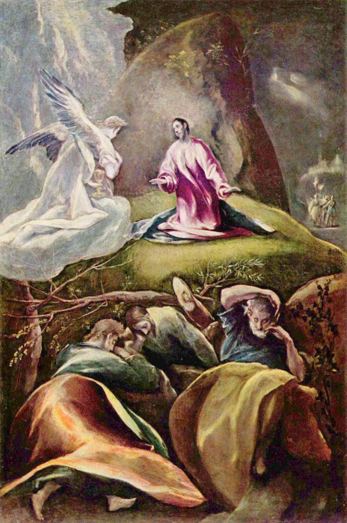 El Greco Ölberg'te İsa'nın Çilesi