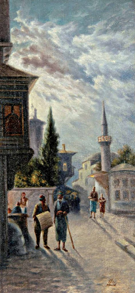 Halid Naci Eski İstanbul Sokağı