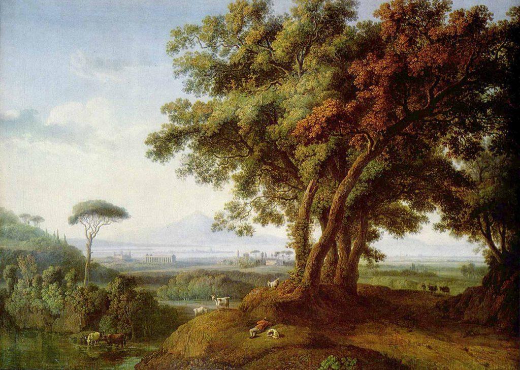 Jacob Philipp Hackert İtalya'dan Manzara
