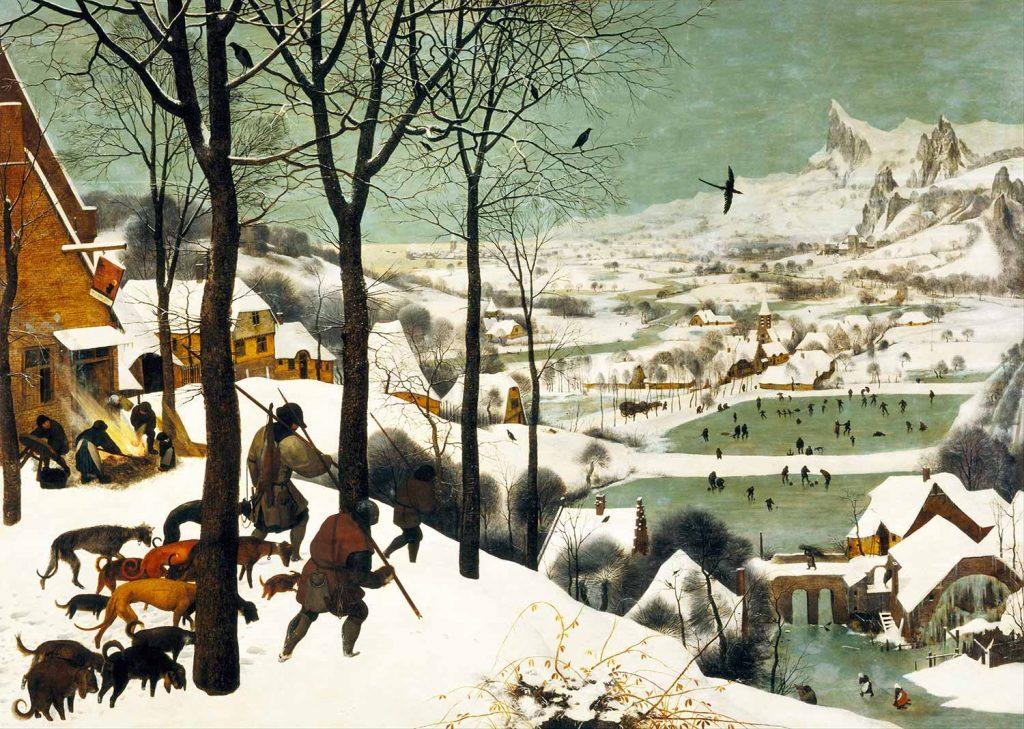 Pieter Bruegel Avcıların Dönüşü