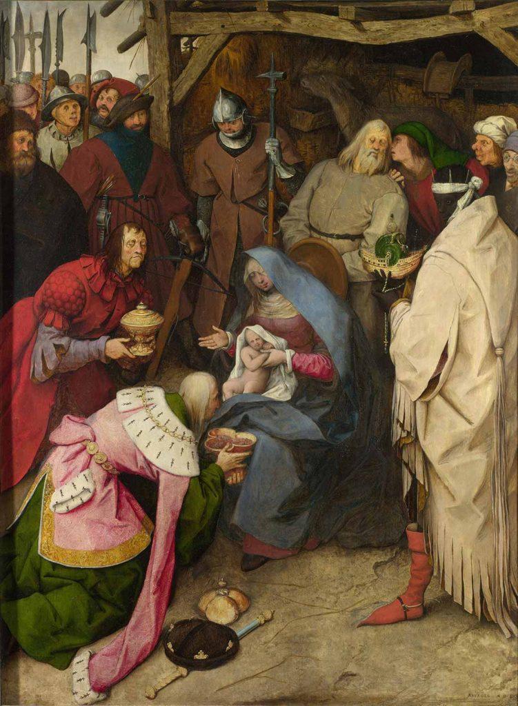 Pieter Bruegel Kralların Tazimi