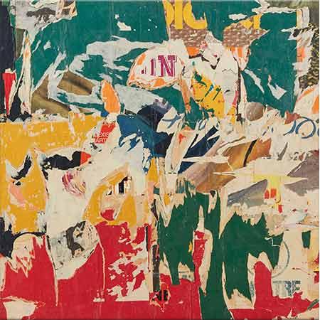 Raymond Hains İsimsiz Kompozisyon