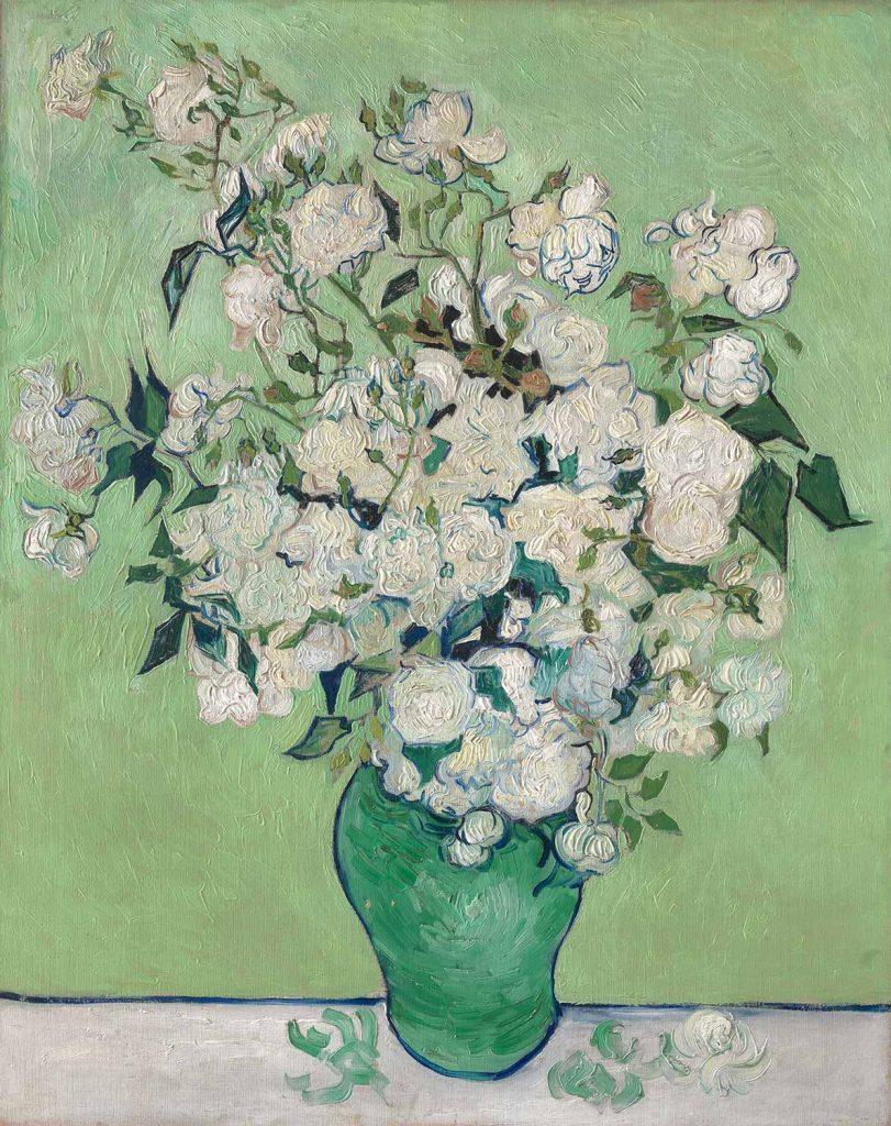 Vincent van Gogh Vazoda Güller