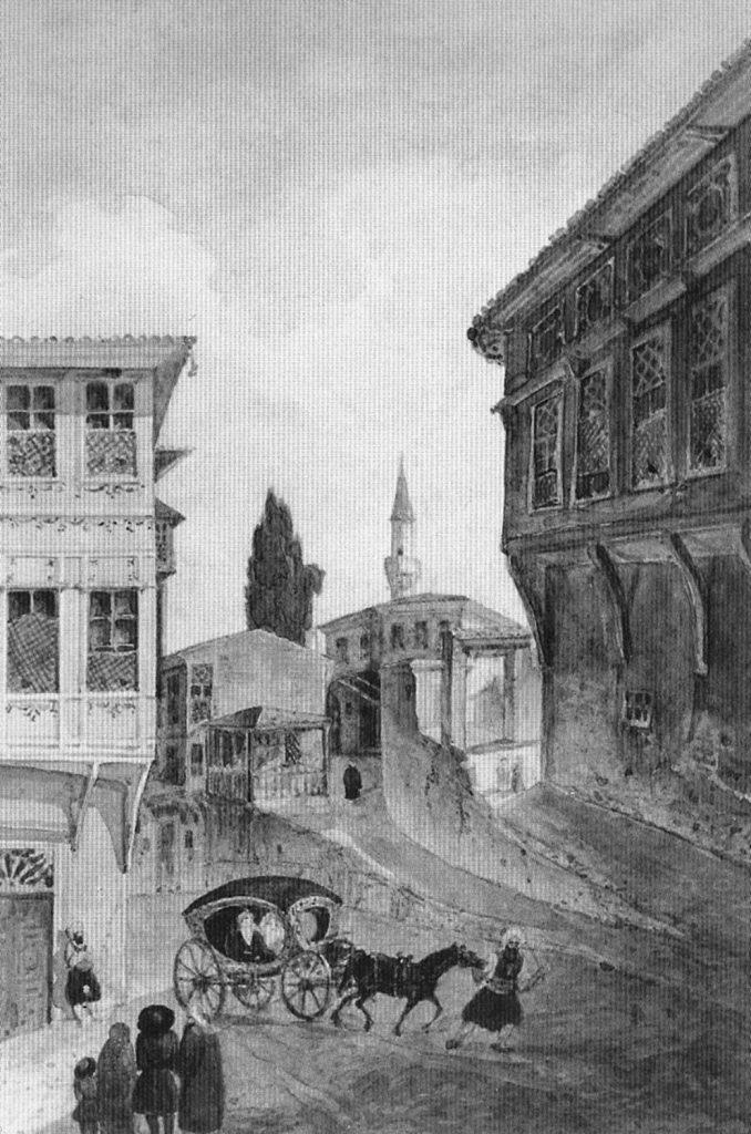 Gaspar Fossati Bir İstanbul Sokağı