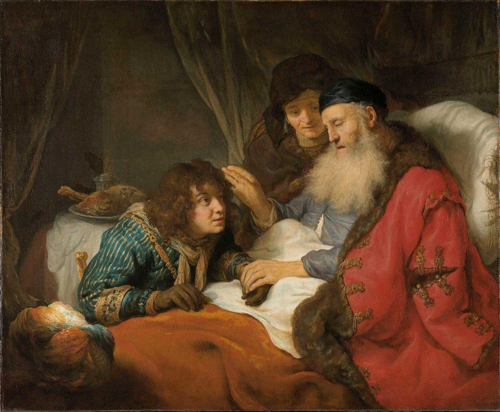 Govert Flinck İshak Yakub'u Kutsarken