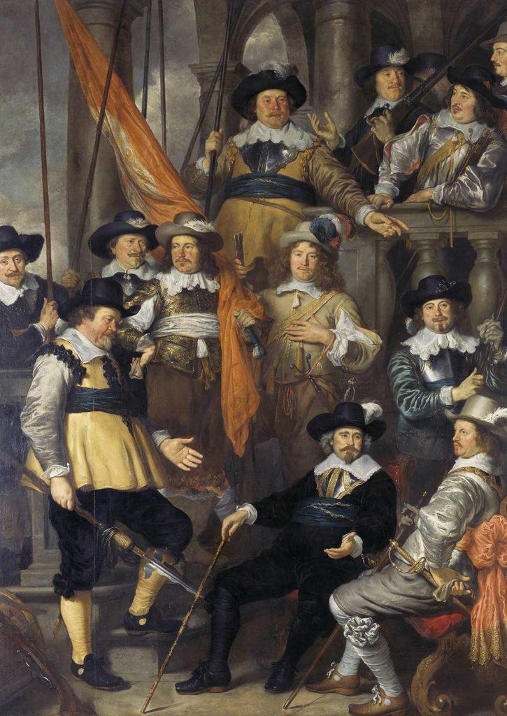Govert Flinck Kaptan Albert ve Arkadaşları