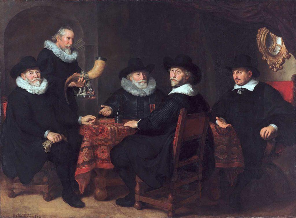 Govert Flinck Resmi Görevliler