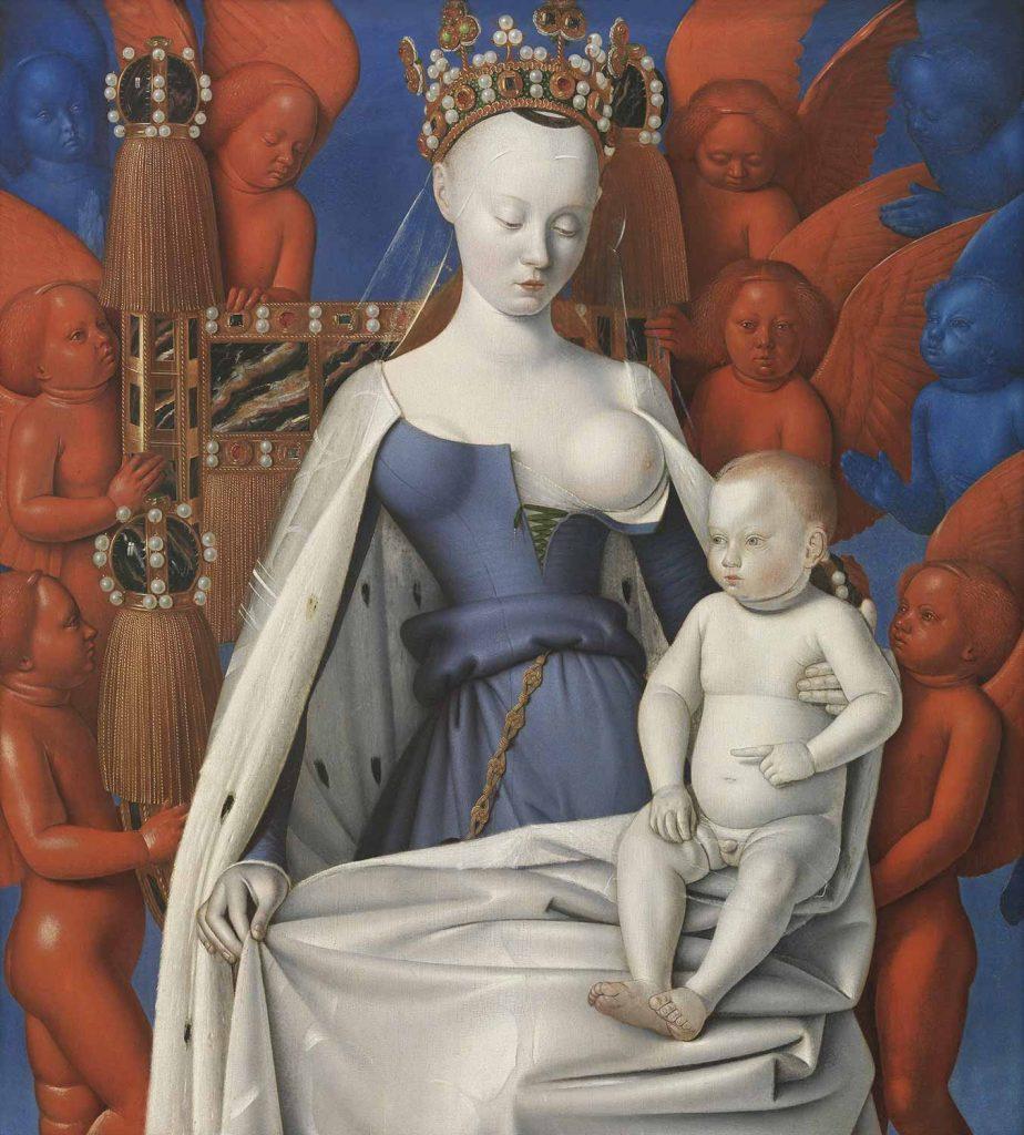 Jean Fouquet Meryem ve İsa