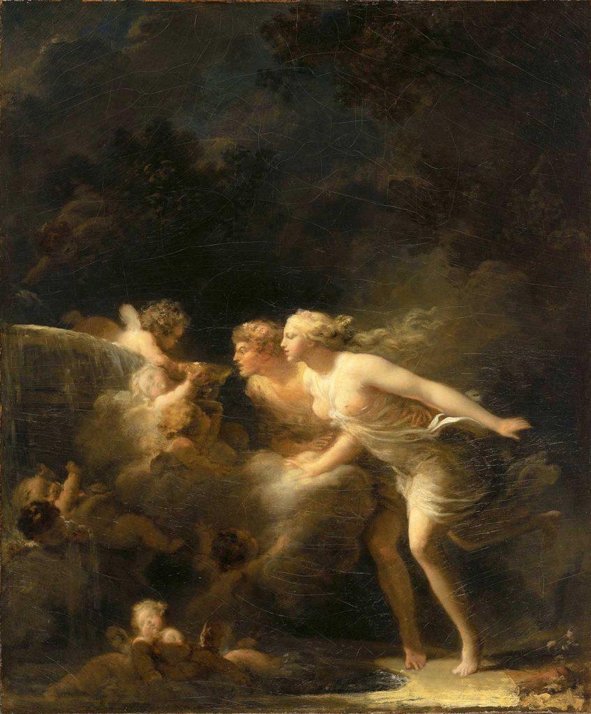 Jean Honore Fragonard Aşk Çeşmesi