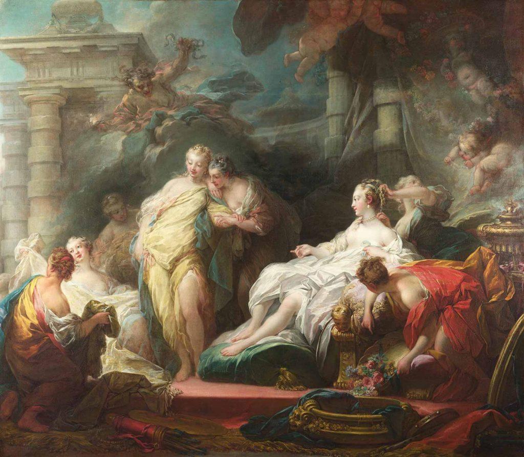 Jean Honore Fragonard Diana