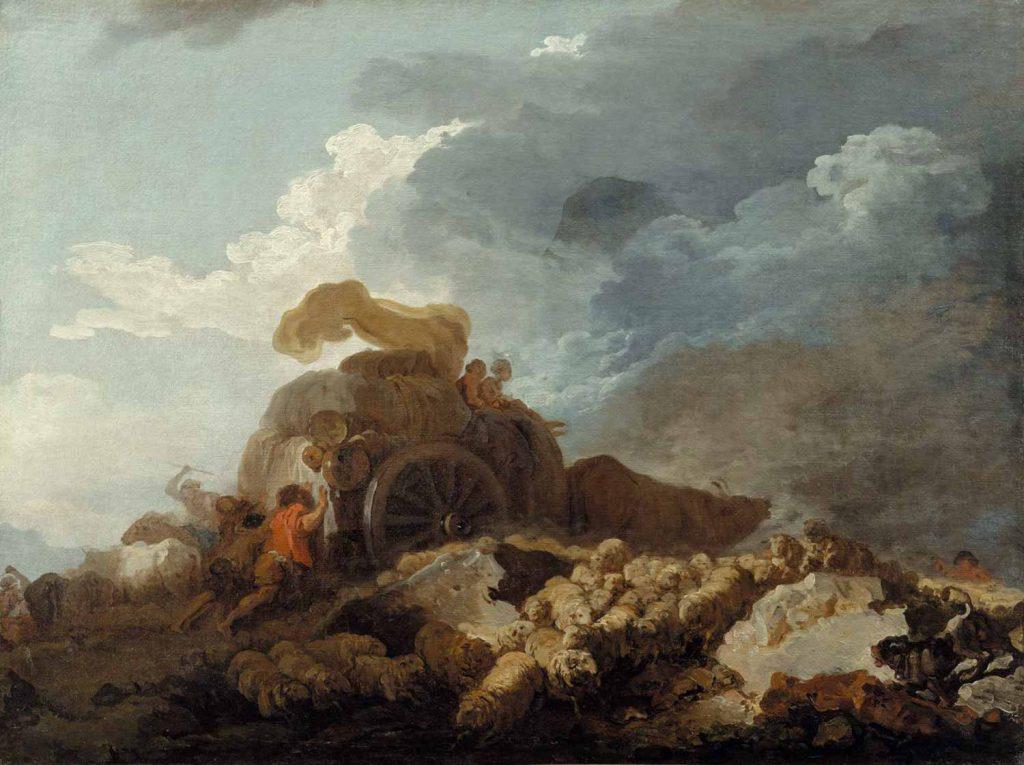 Jean Honore Fragonard Fırtına