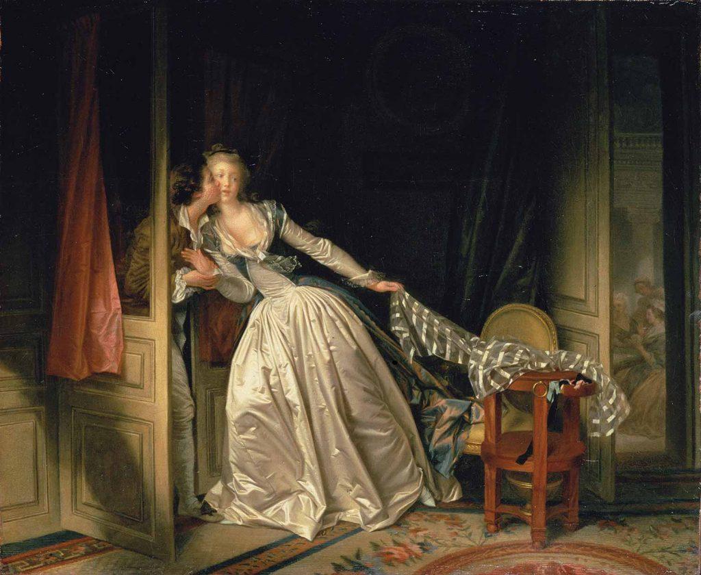 Jean Honore Fragonard Gizli Öpücük