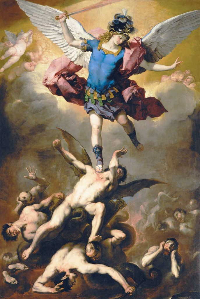 Luca Giordano Asi Meleğin Düşüşü