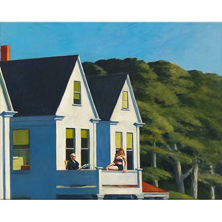 Edward Hopper İkinci Öykü Güneş Işığı