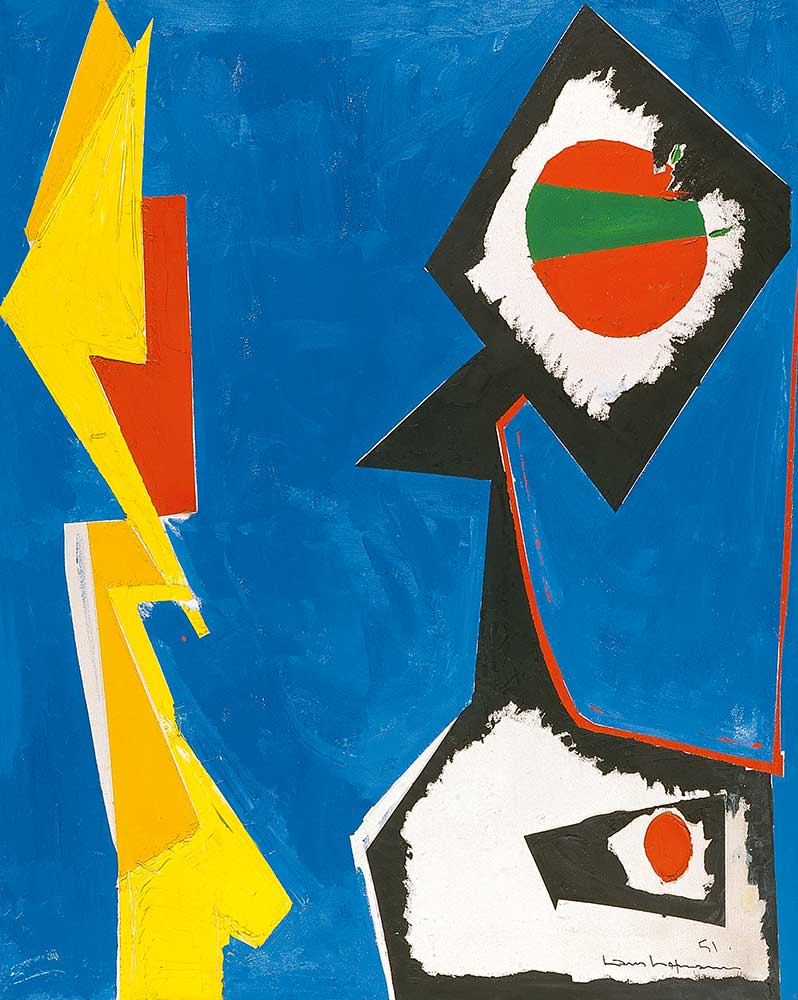 Hans Hofmann Mavi Büyü