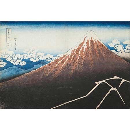 Katsushika Hokusai Fuji Dağı 02