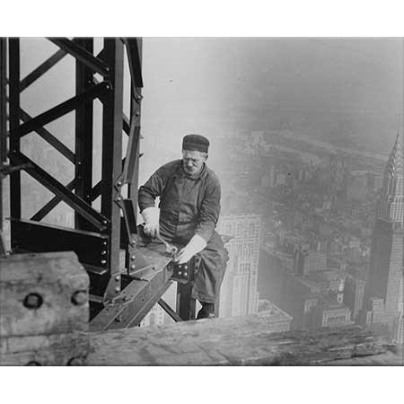 Lewis Hine Empire State Binası İnşaatında