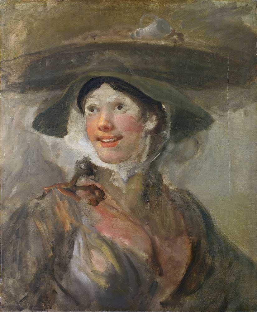 William Hogarth Genç Kız