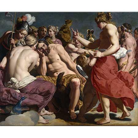 Abraham Janssens Venüs Tarafından Azarlanan Jüpiter