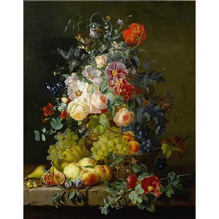 Amalie Kaercher Çiçekler ve Meyveler