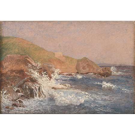 Christen Købke Kapri Sahili ve Açık Deniz